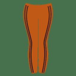 Calça laranja senhoras