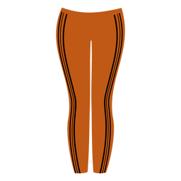 Orange ladies pant