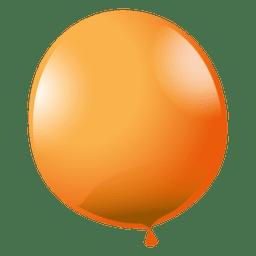 Orange Partyballon