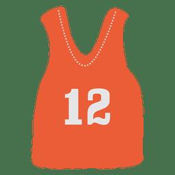 Jersey sin mangas naranja