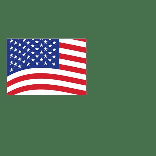 Bandeira de origami EUA Transparent PNG