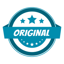 Ursprüngliches rundes Etikett