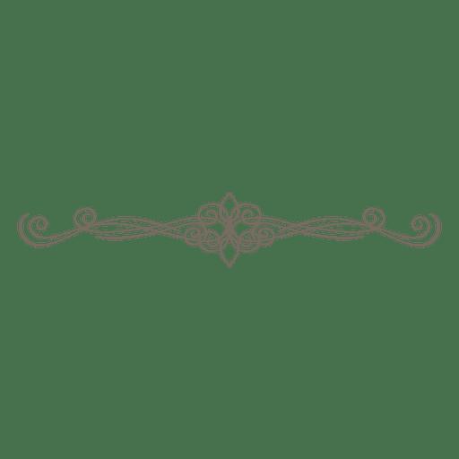 Ornate divider decoration