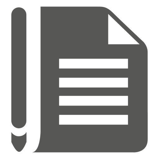 Paper pen icon