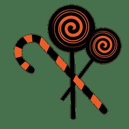 Desenho de doce de hortelã-pimenta 2