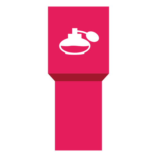 Perfume icon ribbon label Transparent PNG