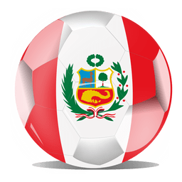 Peru-Flaggenball