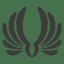 Fénix alas decoración 2