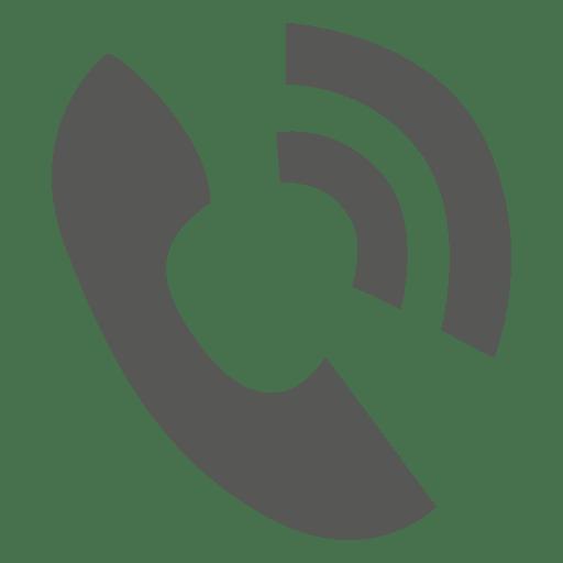 Icono de llamada de teléfono Transparent PNG