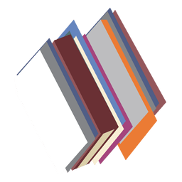 Icono de pilas de libros