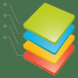 Acumular tabla de cubos
