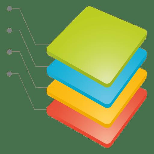 Acumular tabla de cubos Transparent PNG