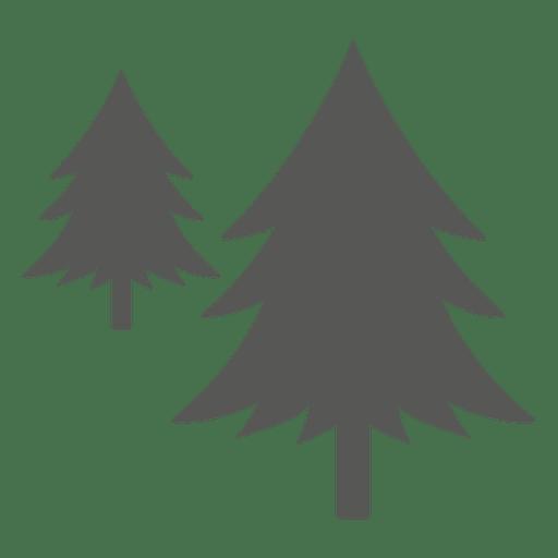 Ícone de pinheiros