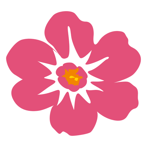 pink hawaiian flower transparent png svg vector rh vexels com hawaiian flower vector art hawaiian flower print vector