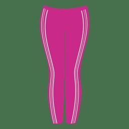 Senhoras rosa calça