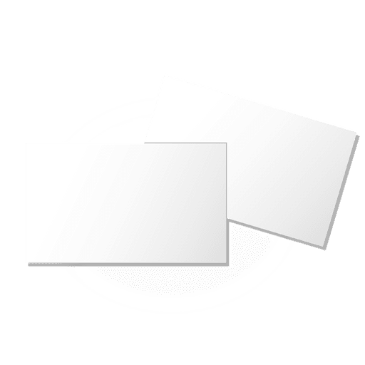 Plain blank brochures Transparent PNG