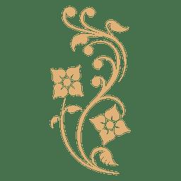 Planta remolinos decoración