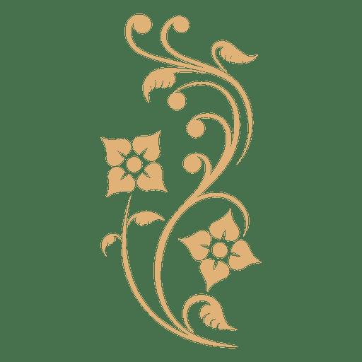 Planta remolinos decoracion. Transparent PNG