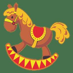 Pony de dibujos animados de juguete