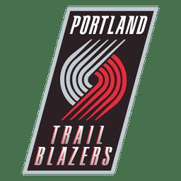 Logotipo de blazers de trilha de Portland