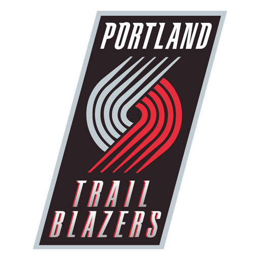 Portland trail blazers logo Transparent PNG