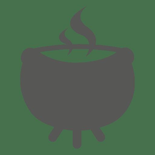 Icono de pote en llamas Transparent PNG