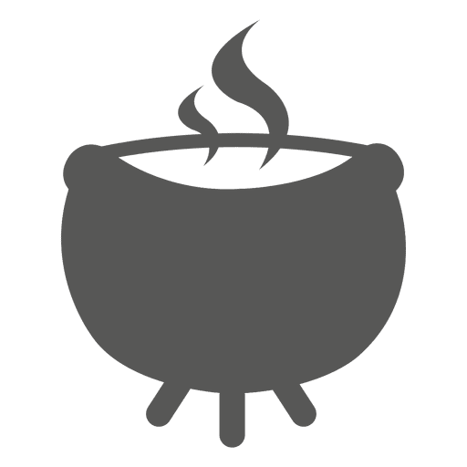 Pot on fire icon Transparent PNG