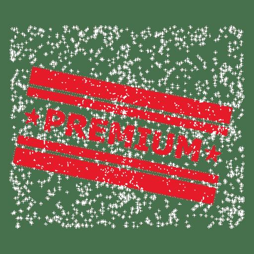 Premium-Grunge-Platz-Label Transparent PNG