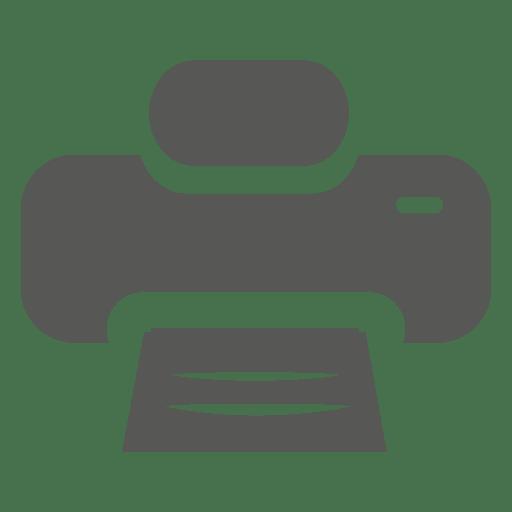 Ícone de impressora plana