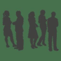 Berufsgruppenschattenbild