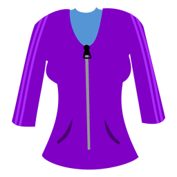Purple ladies sweater