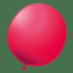 Roter Partyballon