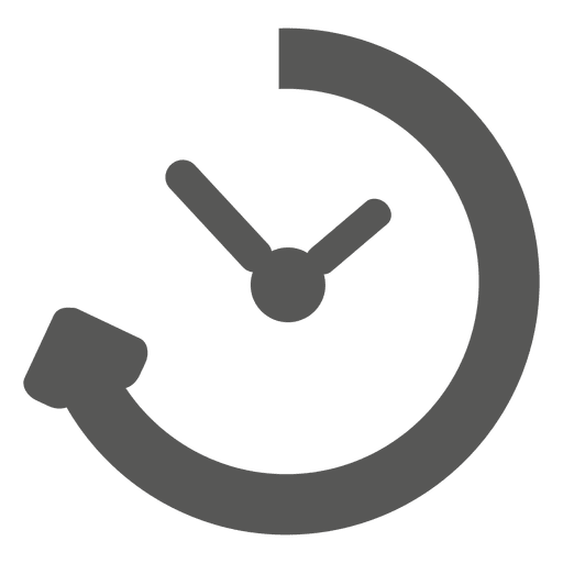 Reloading timer clock icon