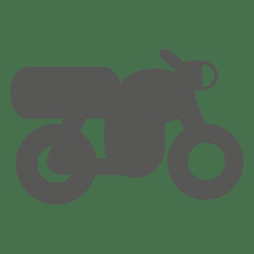 Ícone lateral de moto retrô Transparent PNG