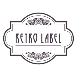 Emblema de ornamento retrô 2