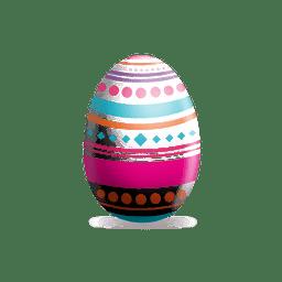 Rombos puntea el huevo de Pascua