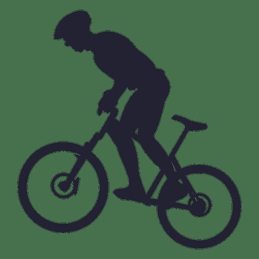 Montando bicicleta de montaña Transparent PNG