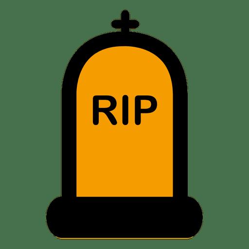 Dibujos animados de lápida de rip 3