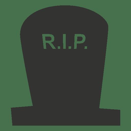 Dibujos animados de lápida de rip 4