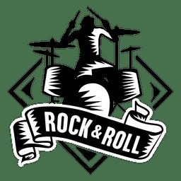 El rock and roll insignia