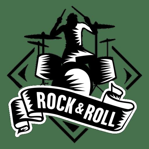Placa de rock and roll