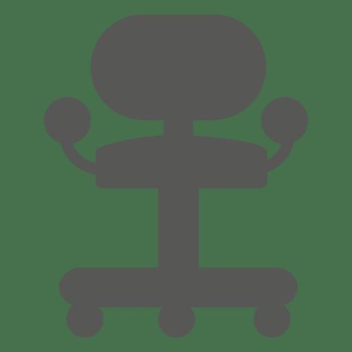 Ícone de cadeira de rolo Transparent PNG
