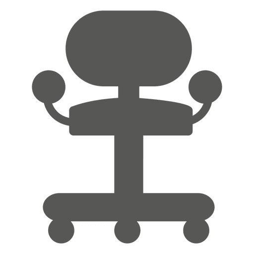 Roller Chair Icon Transparent PNG