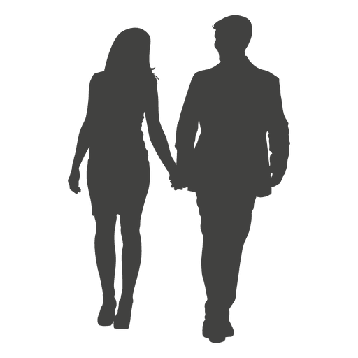 people walking silhouette png 2d silhouette of a man and