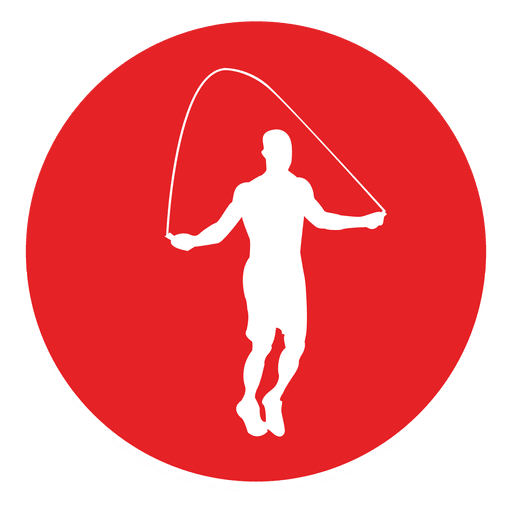 Rope jumping circle icon Transparent PNG
