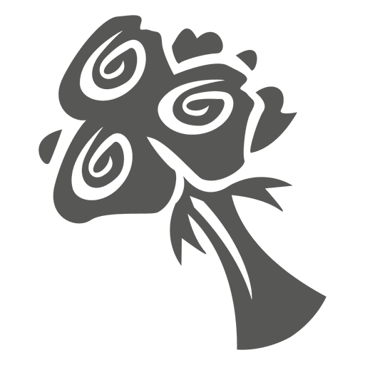 Rose bouquet icon - Transparent PNG & SVG vector file