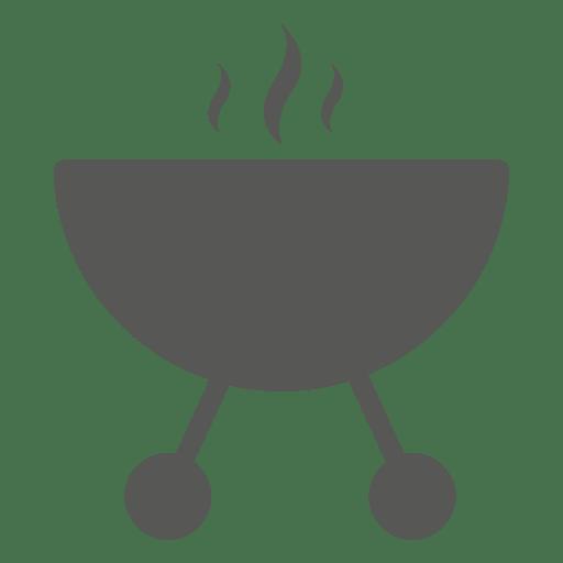 Icono de estufa de barbacoa redonda Transparent PNG