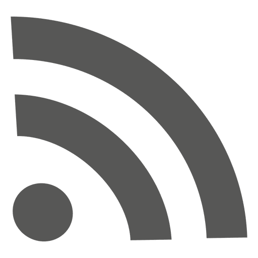 Rss feed icon Transparent PNG