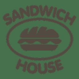 Logotipo de la casa de sandwich