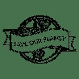 Salve seu rótulo de planeta